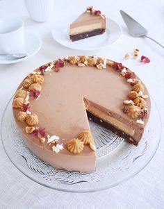 Tårtor | erikasfikastund Sweet Desserts, Dessert Recipes, Piece Of Cakes, Something Sweet, Baked Goods, Sweet Tooth, Bakery, Sweet Treats, Food Porn