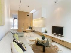 small and narrow apartment