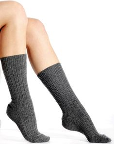 """Luxurious, soft and really warm, these cashmere socks are made from the finest grade of pure cashmere. These stunning socks are made from """"A-Grade"""" 2 ply pure cashmere yarn, and offer unsurpassed warmth and softness. Cashmere Socks, Cashmere Cardigan, Unisex, Pure Products, Boutique, Luxury, My Style"""