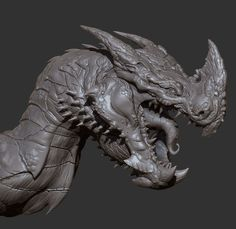 ArtStation - Red Dragon , Oscar Loris