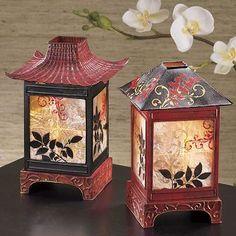 asian home decor asian pagoda lanterns Oriental Asian Home Decor