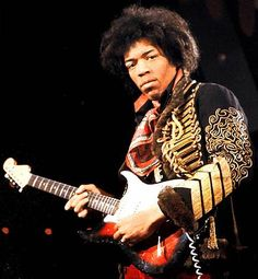Jimi Hendrix  November 27, 1942 Jimi Hendrix was born on this date in 1942. He was an African-American blues and rock guitarist known for his innovative playing of the electric guitar and as a symbol of the 1960s youth counterculture.