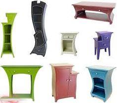 Colorful Unique Furniture Design - Furniture Home Idea Cardboard Furniture, Funky Furniture, Unique Furniture, Kids Furniture, Painted Furniture, Furniture Design, Cheap Furniture, Furniture Cleaning, Furniture Removal