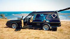 ◆ ~ Aussie Custom Cars & Bikes ~ (Brett Hansford's Radical Custom Holden Panel Van 'Street Legal' with every body panel modified. Hence the 'Radical Custom' class title) Australian Muscle Cars, Aussie Muscle Cars, Holden Australia, Big Girl Toys, Cool Vans, Custom Vans, Hot Cars, Van Life, Motor Car