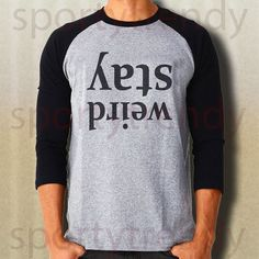 These unisex 3/4 length sleeve tee's are a great way to show your sporty style. Suitable for unisex adults, men and women. Material : Sporty GRAY