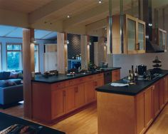Kitchen Black Granite Design, Pictures, Remodel, Decor and Ideas - page 5