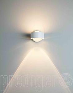 Top Light Puk Wall LED Linse/Glas