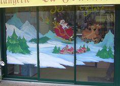 vitrines Noël