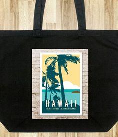 Retro Style Tote Bags
