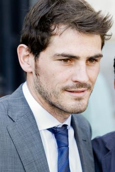 Iker Casillas - the Spanish national team are definitely hotter than the England side at the moment.