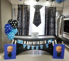 Boss Baby #3 Boss Birthday, Baby Boy 1st Birthday Party, Baby Party, Birthday Party Themes, Birthday Ideas, Baby Invitations, Boss Baby, 1st Birthdays, Baby Boy Shower