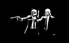 Star Wars Pulp Fiction - star-wars Fan Art