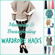 Maternity & Breastfeeding Wardrobe Hacks