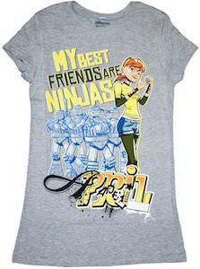 Pin By Shamar Williams On Leadernardo April O Neil Tmnt Cool Shirts