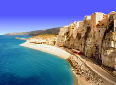 I want to visit Calabria, Italy. My grandfathers from there & it looks so beautiful!