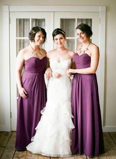 lilac bridesmaid and groom - 736×1005