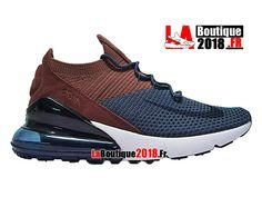 best sneakers c9d4c 34b97 Nike Air Max 270 Flyknit - Chaussure de Running Pas Cher Pour Homme Bule  Brwon AO1023-004