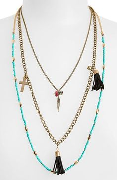Leith Multistrand Necklace