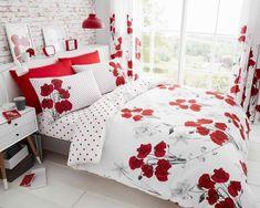 Eden Floral Sketch Luxurious Duvet Covers Quilt Cover Reversible Bedding Sets GC