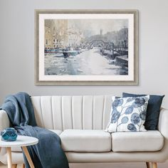 Shop big wall art at Great BIG Canvas. Turn your photos to art, browse classic art, build a custom bus roll, or discover emerging artists. Big Canvas Art, Big Wall Art, Canvas Art Prints, Framed Wall Art, Framed Prints, Venice In Winter, Cozy Couch, Photo To Art, Winter Art