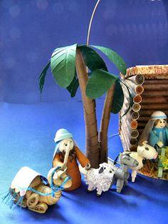 3D Nativity Paper Quilling - Artistic Adventures