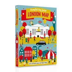 Palomar_Crumpled City Junior Map - London 揉一揉兒童版地圖 倫敦