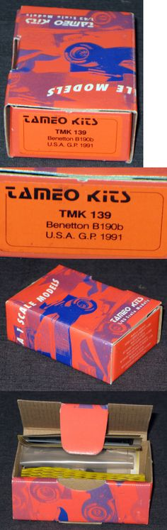 1 43 Scale 145976: 1:43 - Tameo Kits - Tmk 139 - Benetton B190b - Usa Gp 1991 - Made In Italy -> BUY IT NOW ONLY: $69.29 on eBay!
