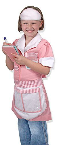 Melissa and Doug Waitress Role Play, 3-6 Years ** Visit the image link more details.