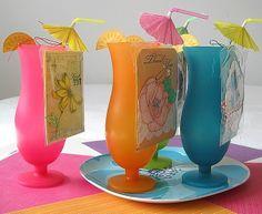 Tropical Drinks Teacher's Gift by Tiffany Ervin (Paper Girl)