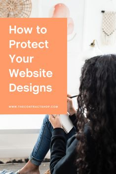 Are you a web designer who wants to prevent copycats or client drama? You'll want to make sure you're legally protecting your creations, your business, and your clients. Read on for all our web design business legal tips — or watch our latest video! #getlegal #protectyourbusiness #webdesign #contracts #biztips Copyright Law, Website Designs, Freelance Graphic Design, How To Protect Yourself, Latest Video, Business Design, Web Design, Drama, Designers