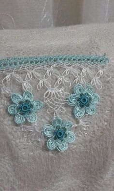 Needle Lace The moment Ifirst laid eyes on oya needlework was not as profound as one might imagine. Crochet Edging Patterns, Crochet Lace Edging, Filet Crochet, Knitting Stitches, Embroidery Stitches, Crochet Unique, Crochet Bedspread, Hairpin Lace, Viking Tattoo Design