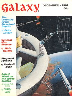 Galaxy, Dec. 1962, cover by Sol Dember