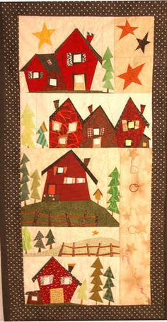 1000 images about case casette casine casone on pinterest house quilts yoko saito and quilt - Patchwork en casa patrones gratis ...