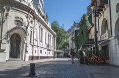 Explore barrio Lastarria's cobbled streets and take in the European architecture, Santiago, Chile | heneedsfood.com