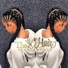 So neat and pretty by Atlanta stylist @the_hairtransformer ❤#voiceofhair VoiceOfHair.com