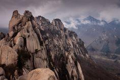 The peak of #Ulsanbawi Rock in #Seoraksan National Park, #Sokcho, Korea