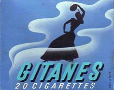 Gitanes cigarettes - I thought this was a simple yet classy design.