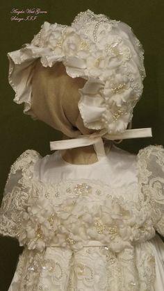 Vestido de Angela West bautizo set SELWYN III por angelawesthgowns