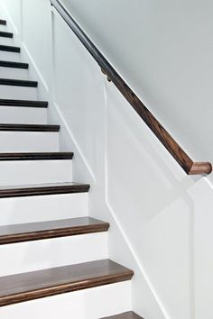 Pin for Later: This Dramatic Staircase Makeover Will Cause You to Do a Double Take