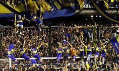 Boca Juniors supporters