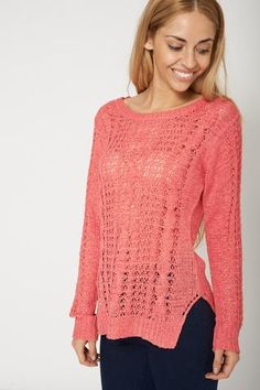 Winter Sweater Style Cable Knit Jumper