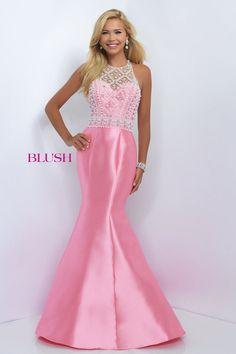 Tapered prom dress