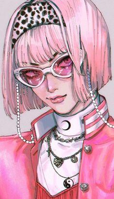Pretty Art, Cute Art, Aesthetic Art, Aesthetic Anime, Art Sketches, Art Drawings, Yazawa Ai, Posca Art, Arte Cyberpunk