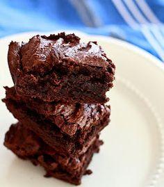 Lemon Drop: Gluten-Free Chocolate Brownies