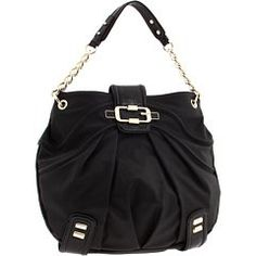 $98.00-$98.00 Handbags  GUESS LORRAINE HOBO BAG, BLACK - The perfect purse for the girl with sophisticated style, supple faux-leather and sleek hardware makes this hobo bag a truly luxe piece. With more than enough room to hold everything you need, carry it to brunch with the girls or to an office meeting to polish off a posh look. ? Soft faux-leather exterior with pale gold-tone hardware ? Logo d ...