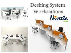 Niveeta Modular Desking System Workstation Store In Delhi NCR Office Furniture ManufacturersModular