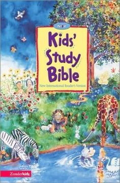 "[""The bestselling NIrV Kids' Study Bible starts early readers off right reading and studying God's Word. This colorful, easy-to-read edition engages kids with its winsome combination of full-color artwork by Joel Tanis and complete NIrV text. And kids will love the simple, fun study aids, designed to help youthful minds explore the Bible in a way that makes it stick.<br><br>\r\n\u201cCheck It Out\u201d helps kids imagine what it was like to live in the times of Moses, David, Jesus, and Paul…"