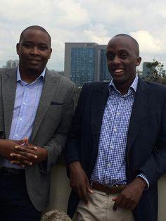 Ivan Mbowa and Munyutu Waigi from Umati Capital 1
