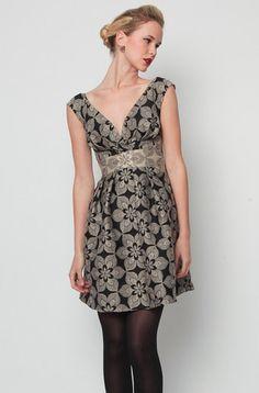 990bcd589dec0 Eva Franco - Kora Dress Gold Crush Eva Franco, Vintage Inspired Dresses,  Classic Chic