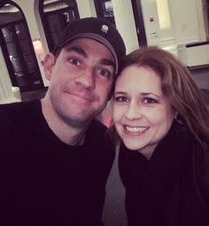 Jenna Fischer Went To See John Krasinski's Play Because Of Course She Did